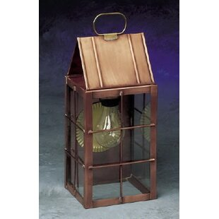 Best 300 Series 1-Light Outdoor Wall Lantern By Brass Traditions