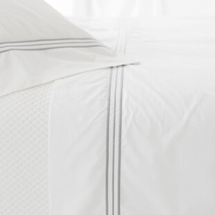 Trio 400 Thread Count 100% Cotton Flat Sheet