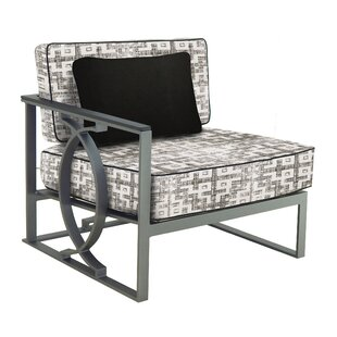 Leona Sunrise Right End Patio Chair with ..
