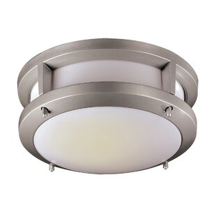 Latitude Run Jorge 1-Light Flush Mount