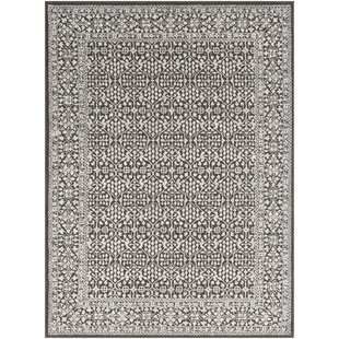 Deals Didama Floral Charcoal/Taupe Area Rug By House of Hampton