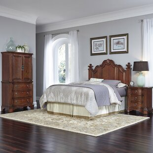 Santiago Platform 4 Piece Bedroom Set by Home Styles