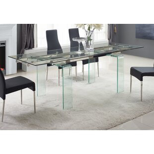 Ivy Bronx Hamner Extendable Dining Table