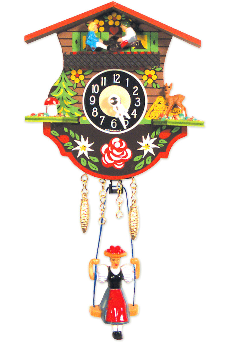 Black Forest Battery Operated Wall Clock Wayfair