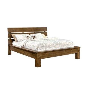 Woodsetter Platform Bed by Loon Peak