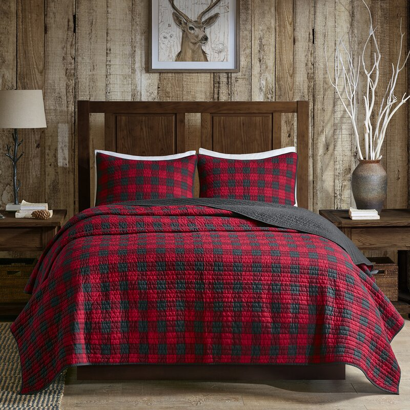 Woolrich Woolrich Check 3 Piece Quilt Set Amp Reviews Wayfair