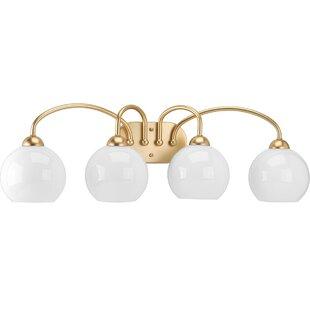 Jaina 4-Light Vanity Light By Mercer41 Wall Lights