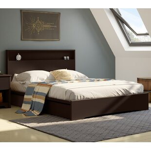 Basic Queen Storage Platform Bed by South Shore Cheap