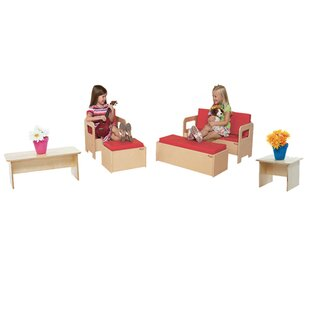 Affordable 6 Piece Children's Furniture Set By Wood Designs