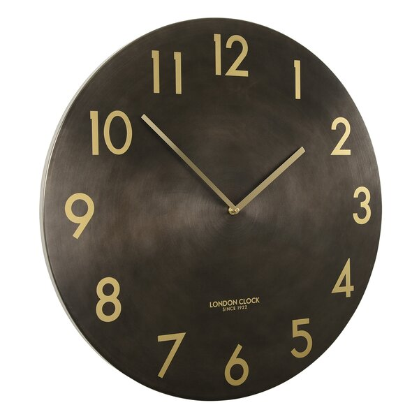 London Clock Company Oversized 60cm Wall Clock Reviews Wayfair Co Uk