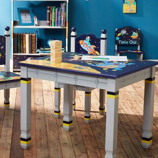 Outer Space Children's Rectangular Writing Table by Fantasy Fields Teamson