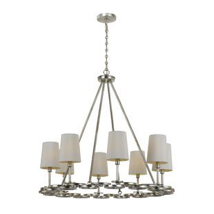 Brayden Studio Templeman 8-Light Shaded Chandelier
