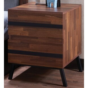 Union Rustic Towry 2 Drawer Nightstand