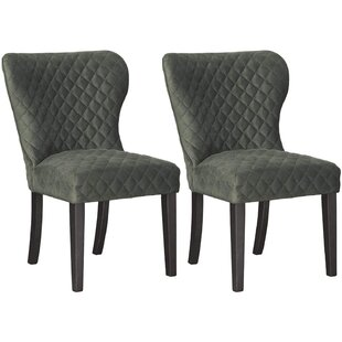 Trantham Upholstered Dining Chair (Set of 2) by Union Rustic