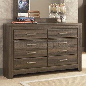 Granite Range 6 Drawer Double Dresser
