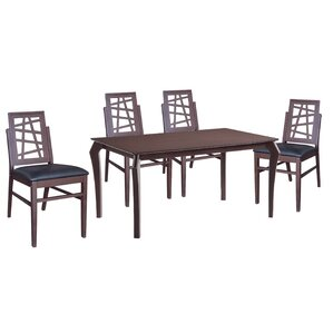 Cafe 5 Piece Dining Set by New Spec Inc