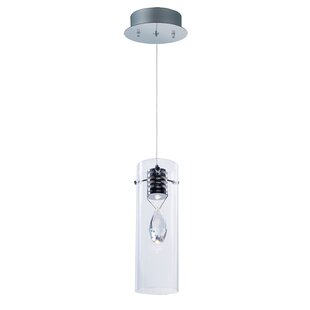 Kendale Lakes 1-Light LED Cylinder Pendant by Wade Logan