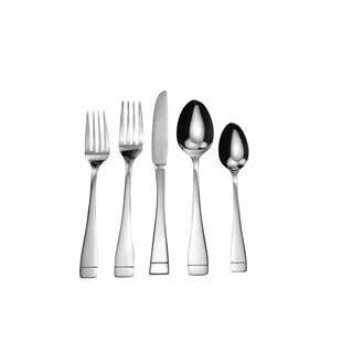 Splendide Rita 20 Piece Flatware Set, Service For 4 by David Shaw Silverware No Copoun