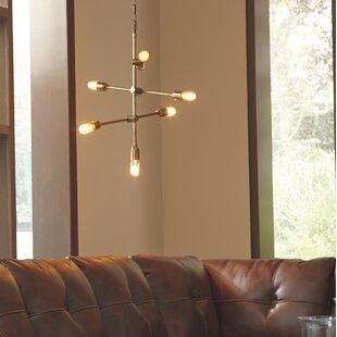 Wrought Studio Bish 7-Light Sputnik Chandelier