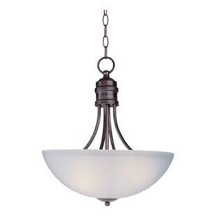 Charlton Home Garfield 3-Light Bowl Pendant