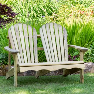Pauls Valley Wooden Bench By Union Rustic