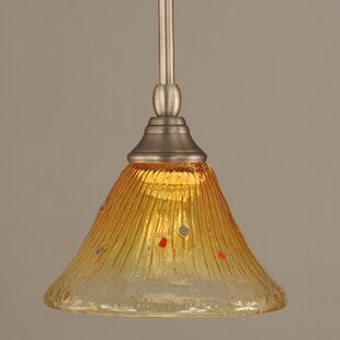 Veda Stem Mini Pendant With Hang Straight Swivel by Red Barrel Studio
