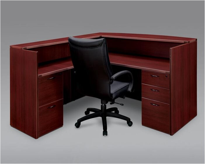 fairplex lshape reception desk