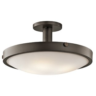 Zetilla 4-Light Semi Flush Mount by Latitude Run