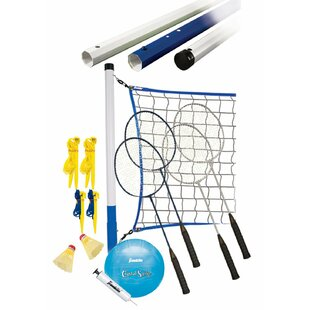 Recreational Badminton/Volleyball Set by Franklin Sports