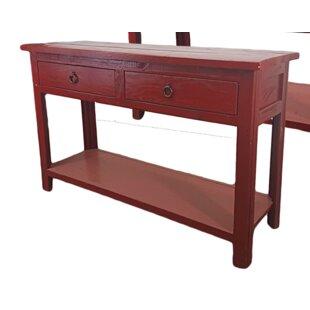 Mari Rustic Console Table
