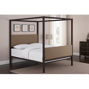 Impressive Canopy Bed Frame Decorating Ideas
