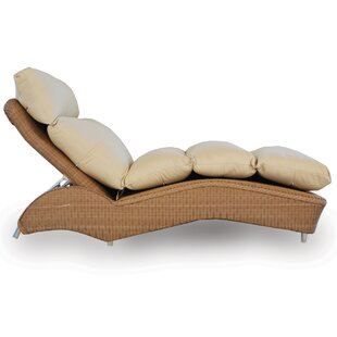 Lloyd Flanders Loom Channel Tufted Chaise Lounge