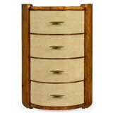 Oval 4 Drawer Nightstand by Jonathan Charles Fine Furniture