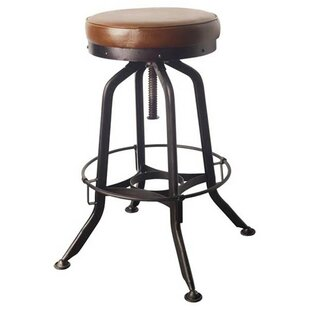 Salazar 28 Swivel Bar Stool by 17 Stories Herry Up