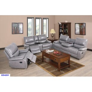 Deals Murguia 3 Piece Reclining Living Room Set by Red Barrel Studio Reviews (2019) & Buyer's Guide