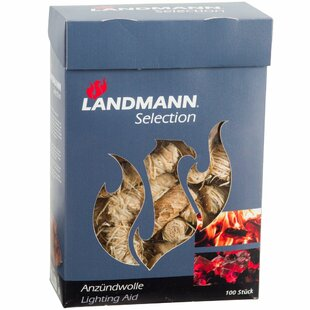 Kaylan Landmann 100 Piece Wood Wool Wax-Soaked Firelighter Set By Sol 72 Outdoor
