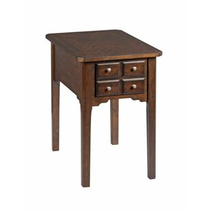 Affordable Price Xochitl End Table with Storage by Alcott Hill