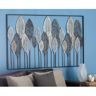 Metal Leaf Wall Décor