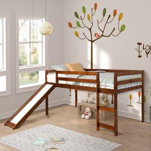 Reviews Allain Twin Low Loft Bed ByHarriet Bee