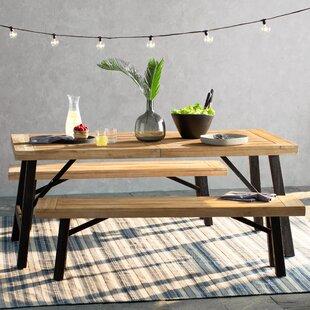 Trent Austin Design Benedetto 3 Piece Dining Set
