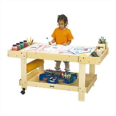 Captivating Creative Caddie Kids Arts And Crafts Table