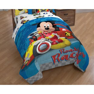 Mickey Mouse Clubhouse Roadster Racer Single Reversible Comforter