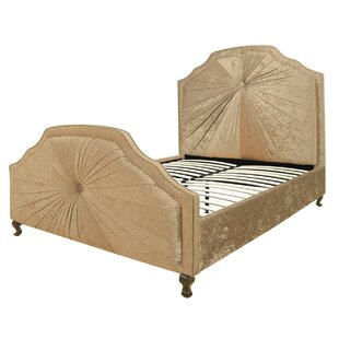 Kingsize (5') Upholstered Sleigh Bed By Willa Arlo Interiors