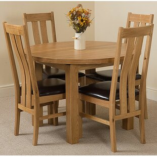 Stumptown Ales Solid Oak Dining Set ...