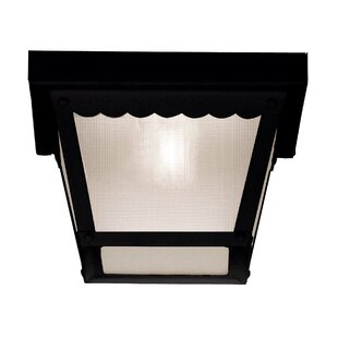 Low priced Daigle 1-Light Flush Mount By August Grove