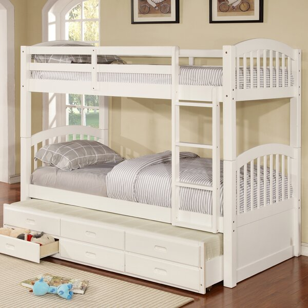 Viv Rae Kamryn Twin Bunk Bed with Trundle and Storage & Reviews