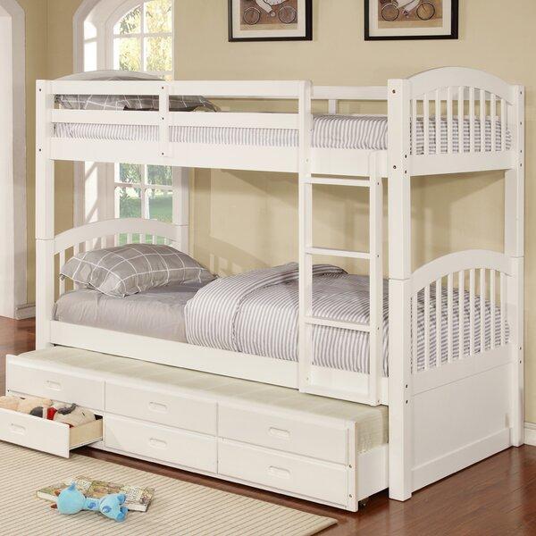 Twin Bunk Beds With Storage Part - 35: Viv + Rae Kamryn Twin Bunk Bed With Trundle And Storage U0026 Reviews | Wayfair