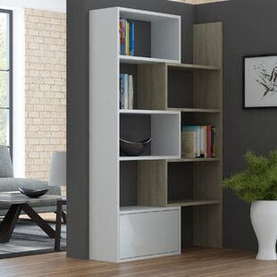 Mattie Geometric Bookcase