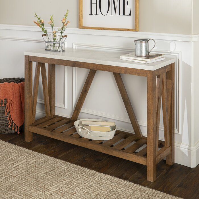 Admirable Offerman Console Table Bralicious Painted Fabric Chair Ideas Braliciousco