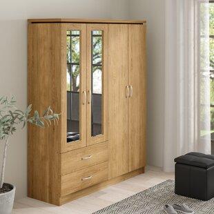 Charles 4 Door Wardrobe By 17 Stories